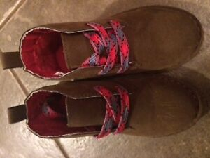 Cute Boys Suede Boots; Size 11