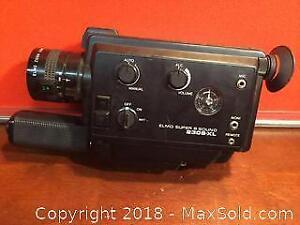 Elmo Super 8 Camera