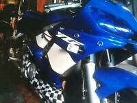 R6 Yamaha bike lowest miles 4500