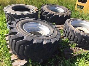 Telehandler Foam Filled Wheel and Tire