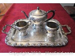 Silver Plated Ware A