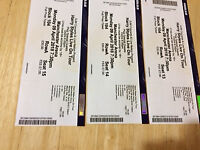 3 Harry Styles Tickets for April 9th