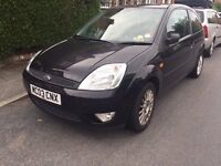 lady owner selling Ford Fiesta