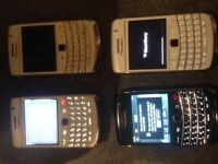 4 x Blackberry 9790