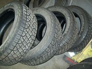 SET OF FOUR 275/55R20 ALL TERRAIN TIRES GOOD SHAPE ONLY $125!!!!