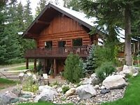 Hartley House-the quietest, most private property in Golden, BC