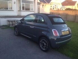 fiat 500C Convertible, Twinair Lounge, AUTOMATIC, @@top of the range car@@
