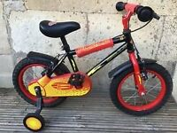 Childrens First Bike with Stabalisers