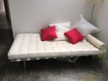 White leather day bed Bilgola Pittwater Area Preview