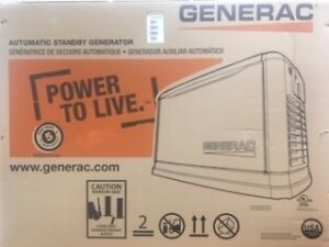 22kw generac natural gas generator