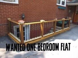 Wanted one bedroom flat to rent in Northampton