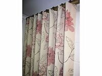 homesew soft furnishings. Hand made curtains and roman blinds in your own fabric choices.