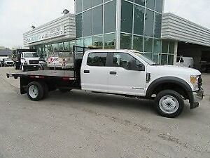 2017 Ford F-550 CREWCAB 4X4 DIESEL WITH /WITHOUT 12 FT FLAT DECK