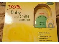 Brand new in box never been used baby and child monitor