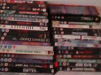 group lot of DVDS £1 each for singles & sets are £5 each