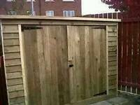 Sheds made to size