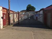 LARGE INDUSTRIAL STEEL GATES, open to offers