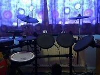 Fantastic condition full Roland Electronic drum kit V-Compact Series TD-3KW Including AMP--£425
