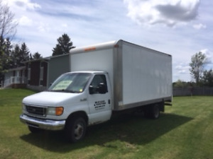 2007 Ford E-Series,  Cube Van