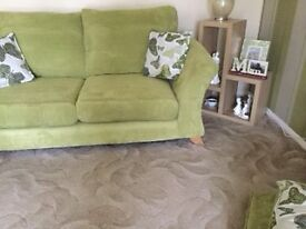 DFS 2 seater and 4 seater settee