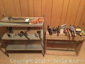 Tools And Shelves A