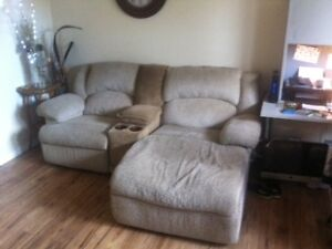 Recliner and Chaise Combo Sarnia Sarnia Area image 1