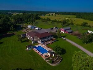 Amazing 172 acre farm just mins North of Kingston!
