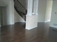 HARDWOOD AND LAMINATE INSTALLATION FROM .75 CENTS PER SQFT.