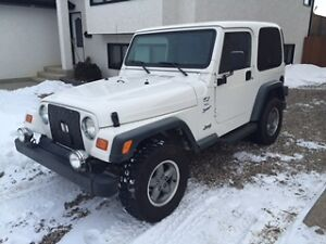1997 Jeep Wrangler TJ Sport 4L  4x4 Convertible like new