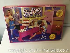 Barbie Travel Agent Set