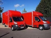 24/7 LWB SMALL OR LUTON VAN HIRE 7.5 TONNE LORRY TRUCK REMOVALS SERVICE WITH A DRIVER AND MAN MOVERS