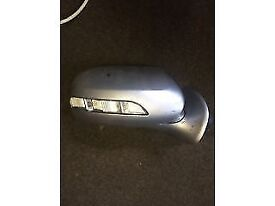 mercedes e class w211 sliver driver side wing mirror for sale complete or fitted thanks