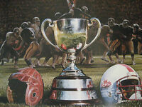 KEN DANBY - The Grey Cup Numbered print