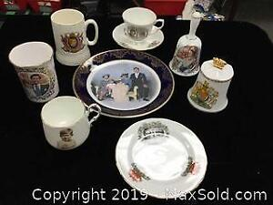 Vintage Royalty Commemoratives