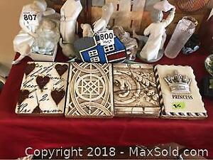 Sid M Dickens Plaques and More A
