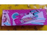 barbie scooter with box and instructions toy