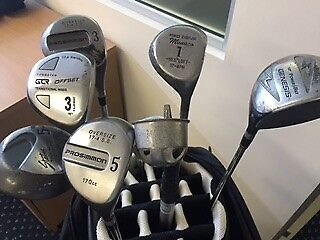 Various Golf Clubs