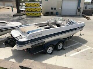 1995 Four Winns Candia 214 with Trailer NO RESERVE