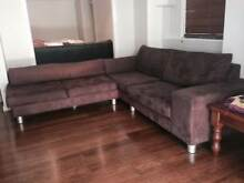 Custom Designed Suede Couch Chapel Hill Brisbane North West Preview