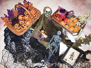 Vintage Halloween Decor - B