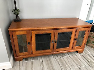 DINING ROOM TABLE WITH INSERT , BUFFET, COFFEE TABLE, END TABLE