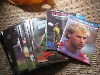 Aston Villa Football Programmes