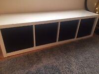 White Ikea Bookshelf/Storage Unit