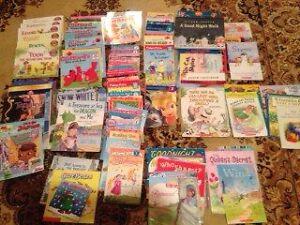 Livres pour enfants en anglais (plus de 35 livres)