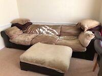 Lounge furniture corner unit suit