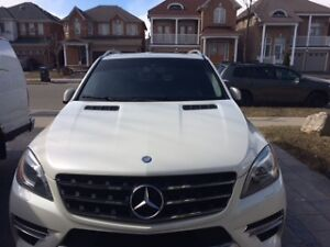 2012 Mercedes-Benz ML 350 Diesel -Class 4 door SUV, Crossover