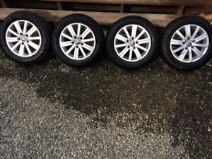 VW Alloy Rims,  with tires