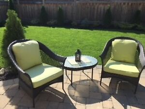 Beautiful outdoor wicker chairs for sale!!