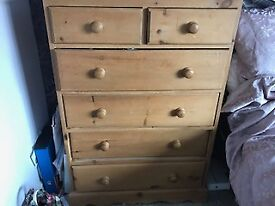 Pine furniture - Double draws - GREAT CONDITION.