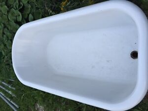 Cast Iron claw foot tub Cambridge Kitchener Area image 3